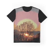 End of a Golden day. Graphic T-Shirt