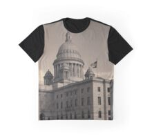 Rhode Island State House I Toned Graphic T-Shirt