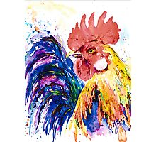 RICKY ROOSTER Photographic Print