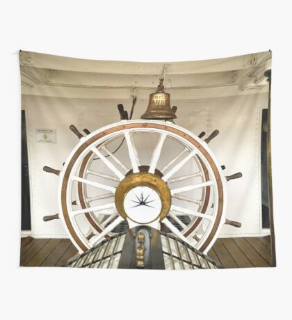 HELM AND BELL Wall Tapestry