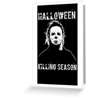 michael myers hallowen Greeting Card