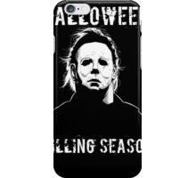 michael myers hallowen iPhone Case/Skin