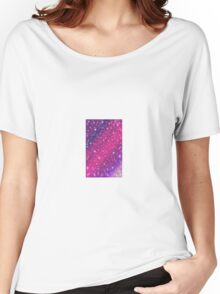 Speed of Light Pink/Purple Women's Relaxed Fit T-Shirt