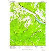 USGS TOPO Map Arizona AZ Lower Lake Mary 312172 1962 24000 Photographic Print