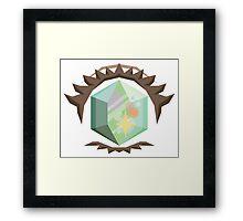 Crystal Eye Framed Print