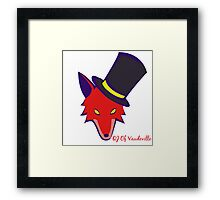 """Vaudeville Coyote"" Apparel Framed Print"