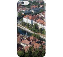 City of Ljubljana, Slovenia. iPhone Case/Skin