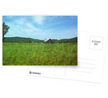 ferme Rural nature Carte de vœux
