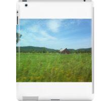 ferme Rural nature iPad Case/Skin