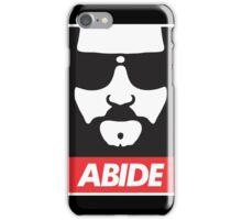abide iPhone Case/Skin