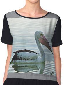 The Australian Pelican Chiffon Top