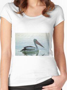 The Australian Pelican Women's Fitted Scoop T-Shirt