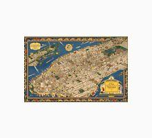 Vintage 1923 Manhattan map - anniversary gift idea Unisex T-Shirt