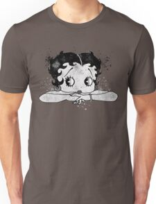 Betty Boop Watercolor Art  Unisex T-Shirt