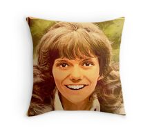 """Carpenters 1973 """"Now and Then"""" wonderful design (number 1 of 2) Throw Pillow"""