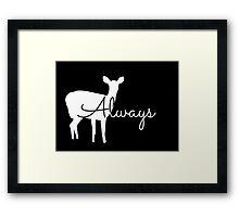 Always Patronus Framed Print