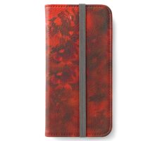 Red and Black Mystery iPhone Wallet/Case/Skin