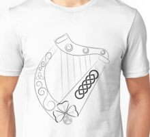 Irish Harp Unisex T-Shirt