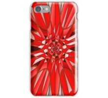Red mineral iPhone Case/Skin