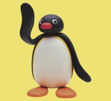 pingu waving One Piece - Short Sleeve