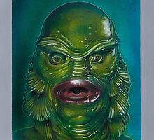 The Creature From The Black Lagoon by jasonkincaid