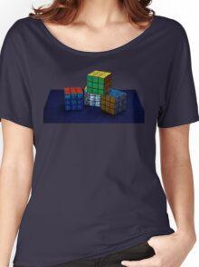 Cubes Women's Relaxed Fit T-Shirt