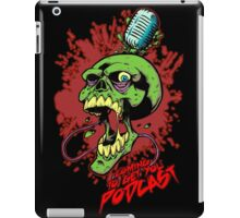 Coming to get you podcast iPad Case/Skin