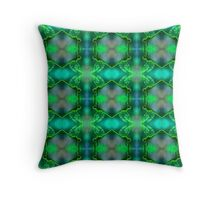 Green Dragonfly (VNS.8) Throw Pillow