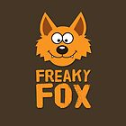 Funny cute Freaky Fox by badbugs