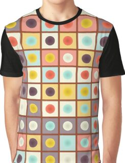 Spotted geometric pattern Graphic T-Shirt