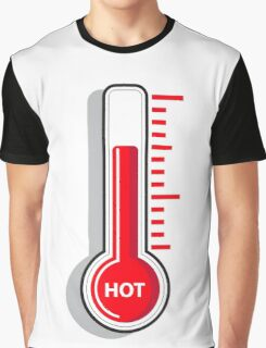 Thermometers icon. HOT Graphic T-Shirt