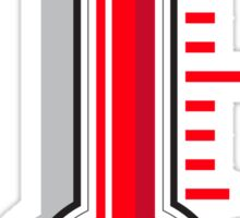 Thermometers icon. HOT Sticker