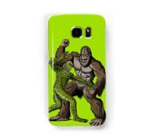Creature From The Black Lagoon Vs Bigfoot Samsung Galaxy Case/Skin