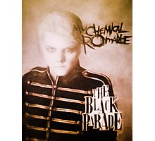 MY CHEMICAL ROMANCE -THE BLACK PARADE- Photographic Print
