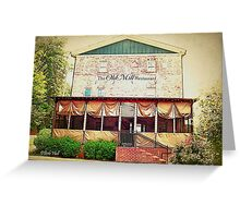 """The Old Mill Restaurant""... prints and products Greeting Card"
