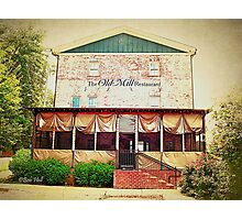 """The Old Mill Restaurant""... prints and products Photographic Print"