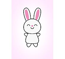 Cute Rabbit / Bunny Photographic Print