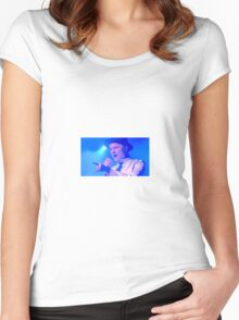 Tragically Hip's Gord Downie Women's Fitted Scoop T-Shirt
