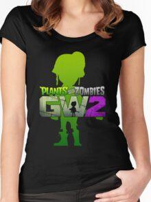 plants vs zombies garden warfare 2 Women's Fitted Scoop T-Shirt