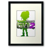 plants vs zombies garden warfare 2 Framed Print