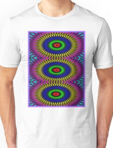 """PSYCHEDELIC MOTION"" 3D Abstract Poster Print Unisex T-Shirt"