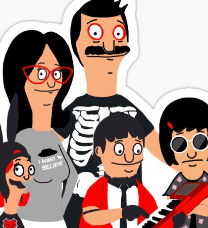 belcher clique Sticker