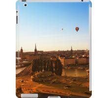 Sunset over Stockholm, SWEDEN iPad Case/Skin