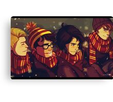 A Marauders Christmas Canvas Print