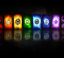 Green Lantern Logos by thundercat0