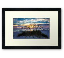 Rainbow Sky at Sunset Framed Print