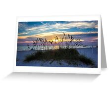 Rainbow Sky at Sunset Greeting Card