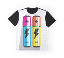 Battery Icon web pictogram flat design Graphic T-Shirt