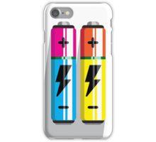 Battery Icon web pictogram flat design iPhone Case/Skin