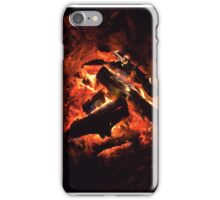 Fire and glowing coals iPhone Case/Skin